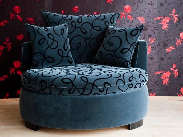 Création d'un fauteuil contemporain sur mesure