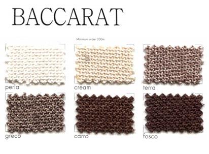 Catalogue de tissus Baccarat
