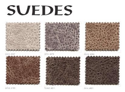 Catalogue des tissus Suedes