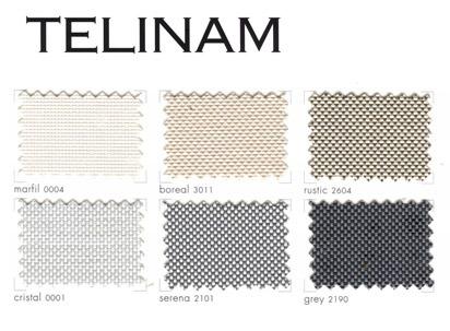 Catalogue de tissus Telinam