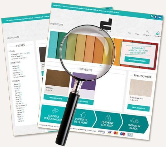 Catalogue des similis cuirs en ligne