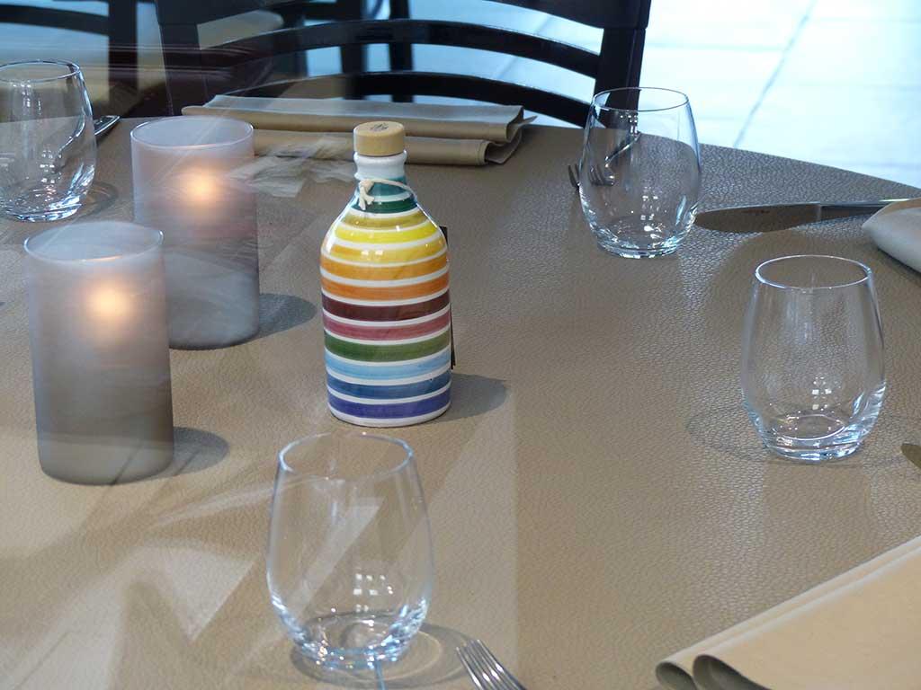 Fabrication de sets de table pour restaurants