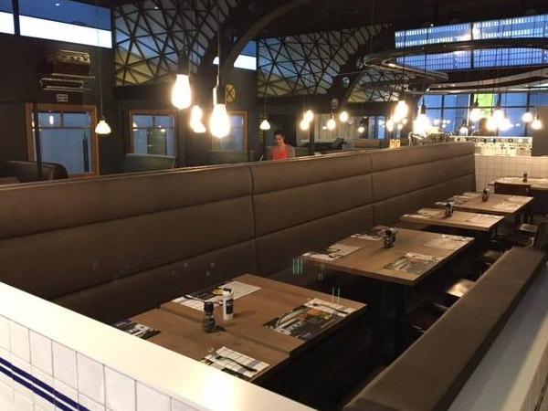 Aménagement restaurant Crocodile de Lille