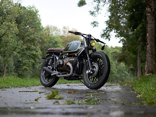 Selle en cuir pour moto custom